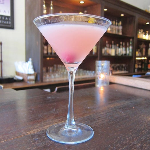 Their Pink Moment martini is a nod to their epic sunsets, and the Pixie Blossom consists of tequila and juice from pixie tangerines.