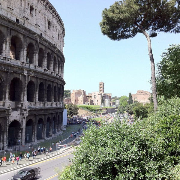 Photo taken at Piazza del Colosseo by Jacopo T. on 5/3/2013