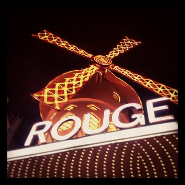 Photo taken at Moulin Rouge by Daniele I. on 7/27/2013
