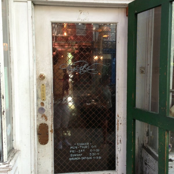 Photo taken at Vinegar Hill House by Luciano R. on 7/20/2013