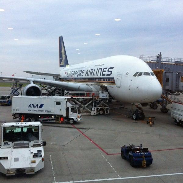 Photo taken at Narita International Airport (NRT) by Yuichi T. on 6/10/2013
