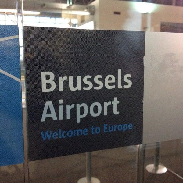 Снимок сделан в Брюссельский аэропорт (BRU) пользователем Ignacio S. 10/22/2013