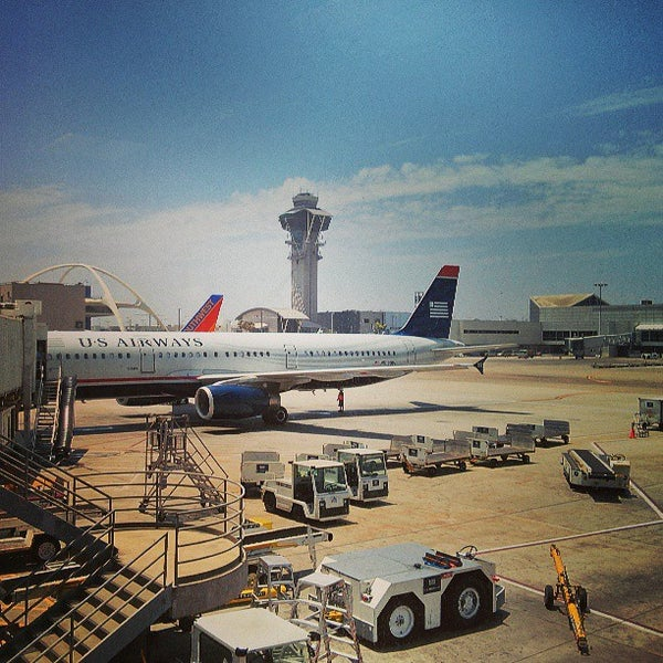 Photo taken at Los Angeles International Airport (LAX) by Loren S. on 7/14/2013