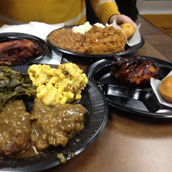 Photo taken at Nana's Soul Food Kitchen by Jennifer W. on 1/22/2013