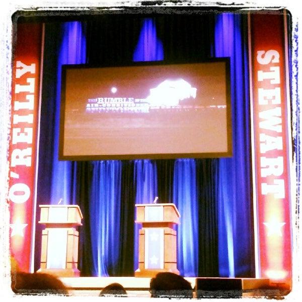 Photo taken at Lisner Auditorium by Daphified on 10/6/2012