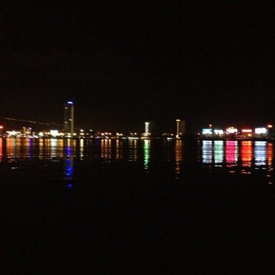 Photo taken at Han River Bridge by Leeya E. on 11/3/2012