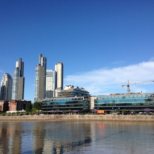 Photo taken at Puerto Madero by Gabriel R. on 11/16/2012