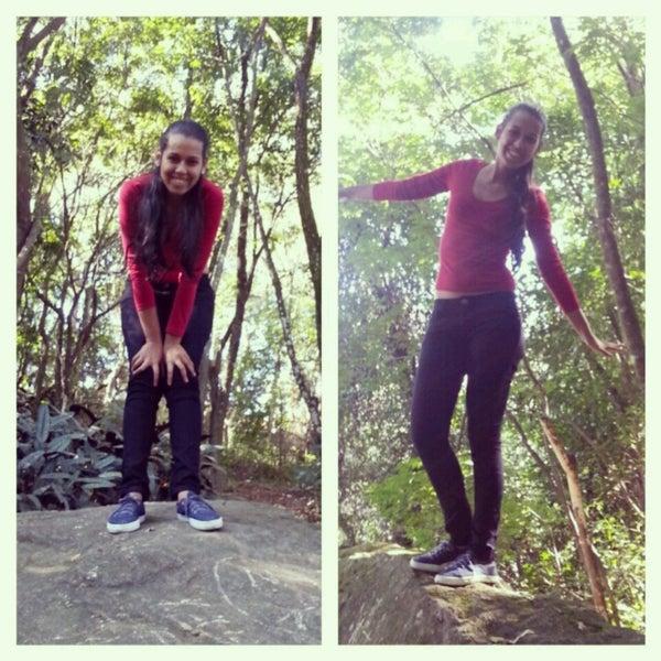 Photo taken at Parque das Hortênsias by liz c. on 7/8/2013