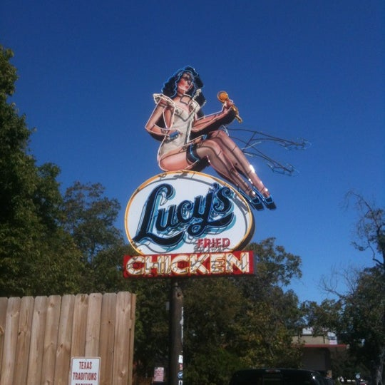 Photo taken at Lucy's Fried Chicken by Michael H. on 11/4/2012