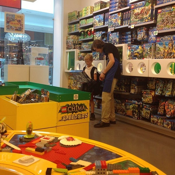 Photo taken at The LEGO Store by Sabrina M. on 9/6/2013