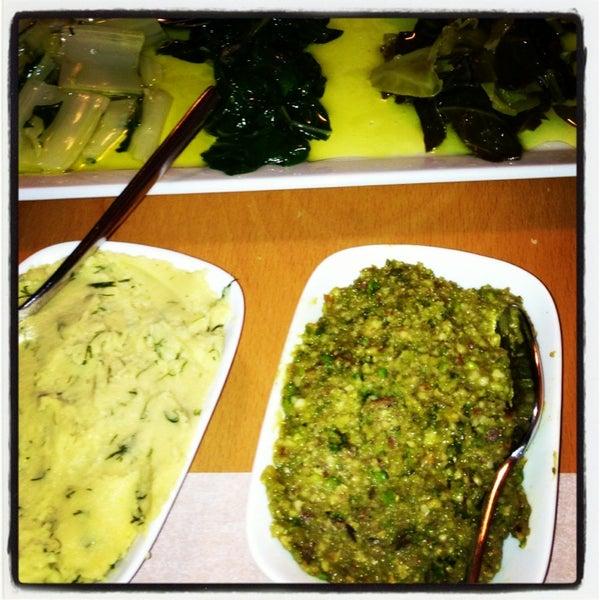 Photo taken at Sıdıka Meze Restoranı by Ozge S. on 2/20/2013