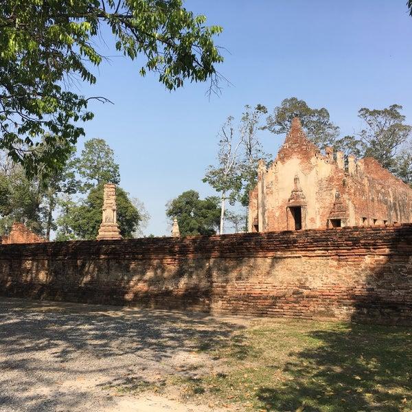 Photo taken at วัดโพธิ์ประทับช้าง by Parn P. on 1/31/2017