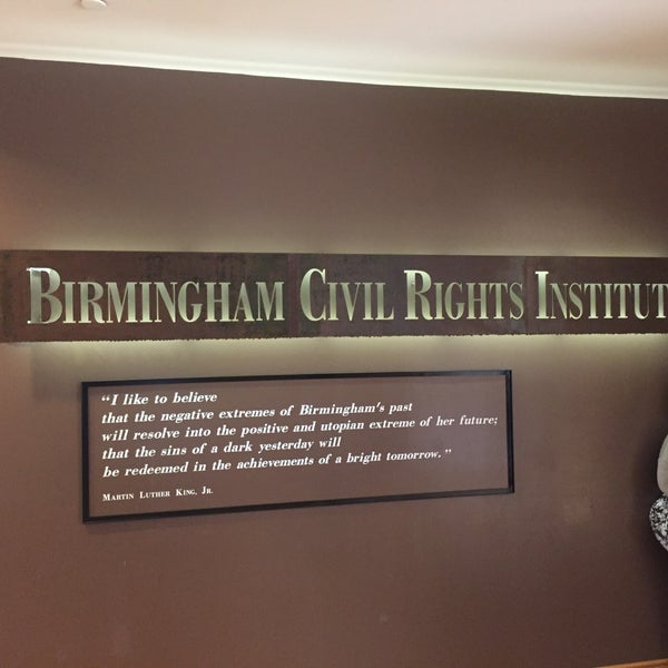 Photo taken at Birmingham Civil Rights Institute by Judge C. on 1/16/2017