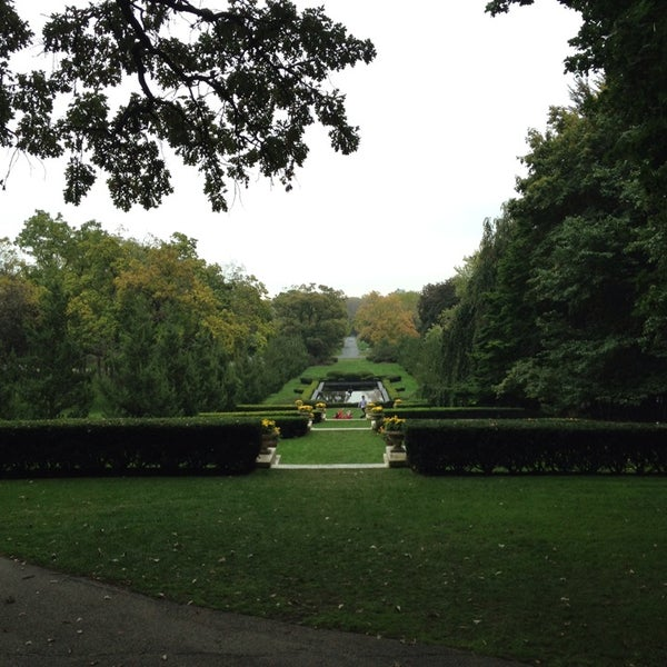 Photo taken at Cantigny Park by Dan B. on 10/12/2013