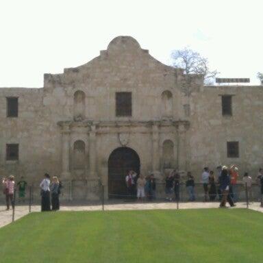 Photo taken at The Alamo by Nikki A. on 4/13/2013