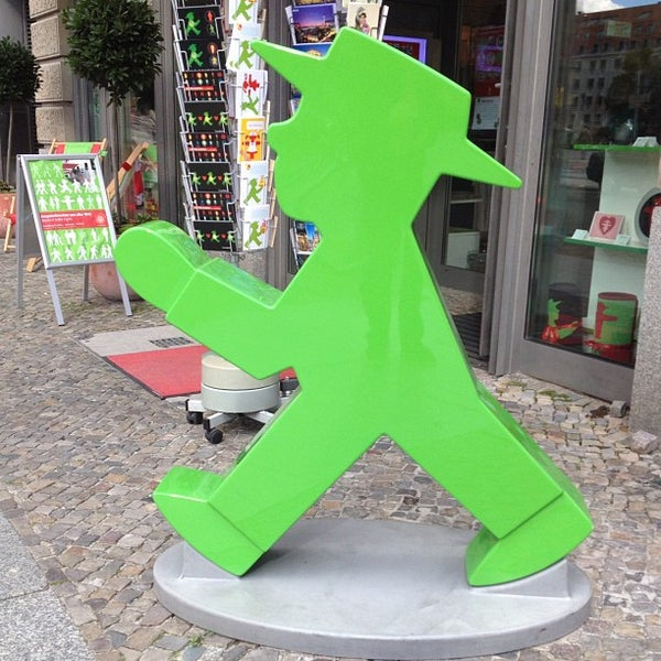 Photo taken at AMPELMANN Shop am Gendarmenmarkt by Tto S. on 9/19/2012