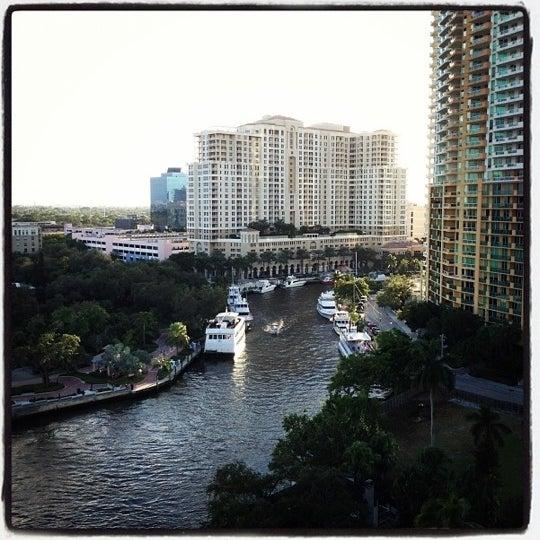 Photo taken at Riverside Hotel by Nick M. on 11/17/2012