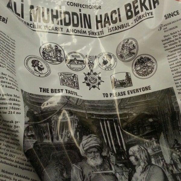 3/27/2013 tarihinde Tuba D.ziyaretçi tarafından Ali Muhiddin Hacı Bekir'de çekilen fotoğraf