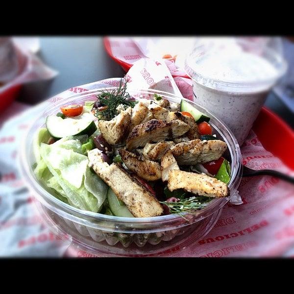 Das Foto wurde bei Good Stuff Eatery von Khalid A. am 10/5/2012 aufgenommen