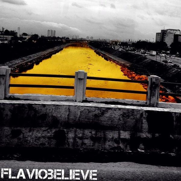 Photo taken at Ponte do Limão by Flavio A. on 6/27/2013
