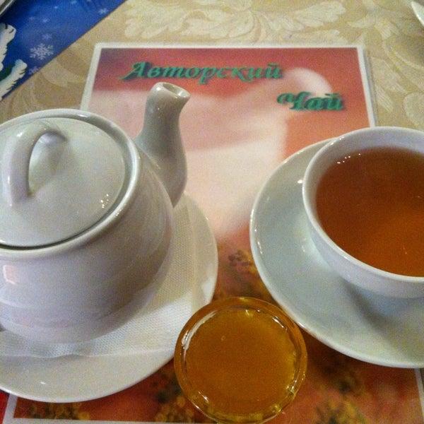 Бесплатный авторский чай за чекин!