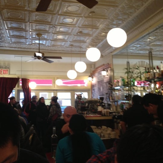 Photo taken at Cafe Luluc by Elaine L. on 1/13/2013