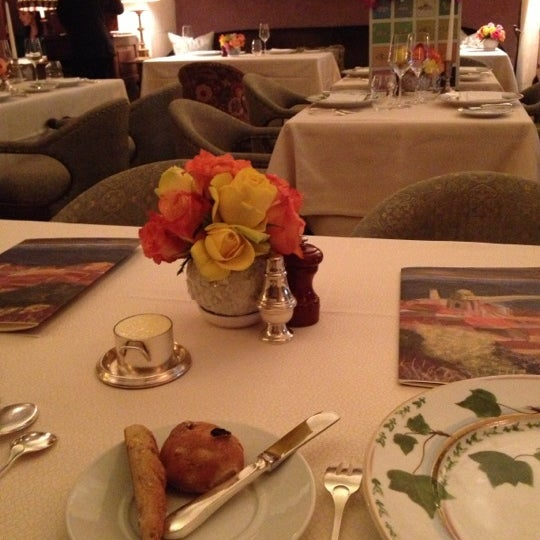 Photo taken at Bouley by Elaine L. on 4/5/2013