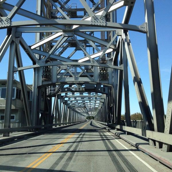 Photo taken at Rio Vista Bridge by Natalia P. on 10/20/2015