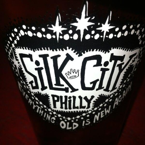 Photo taken at Silk City Diner Bar & Lounge by Kai M. on 3/1/2013