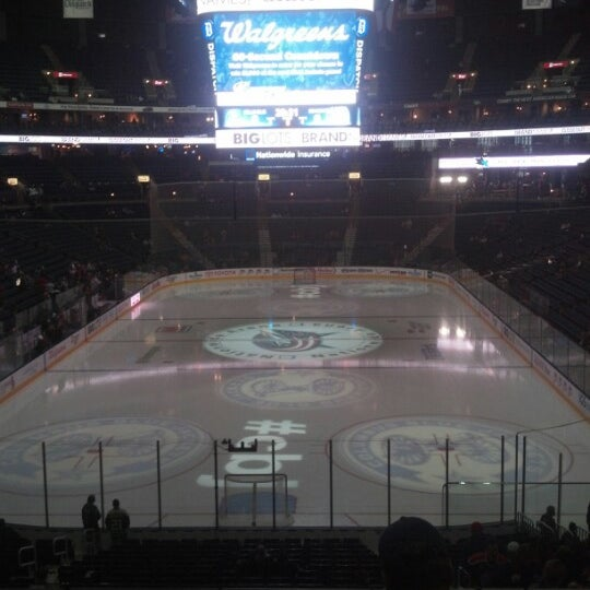 Photo taken at Nationwide Arena by Kate S. on 2/10/2013