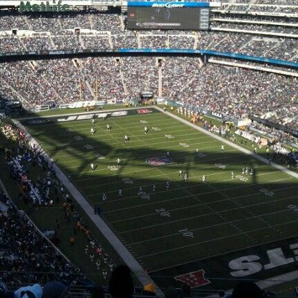 Photo taken at MetLife Stadium by Rickie F. on 12/23/2012