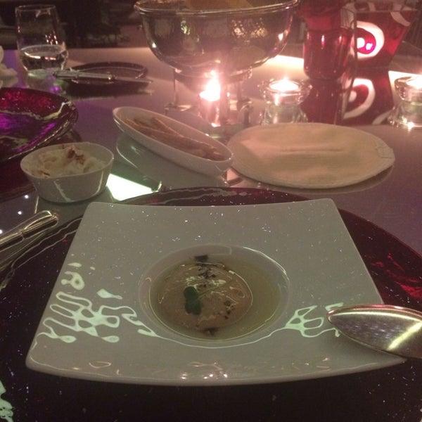 Photo taken at Imago Restaurant by ibrahim I. on 2/20/2014