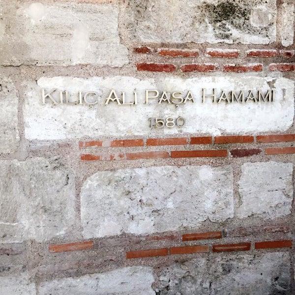 8/13/2017 tarihinde Reemo A.ziyaretçi tarafından Kılıç Ali Paşa Hamamı'de çekilen fotoğraf