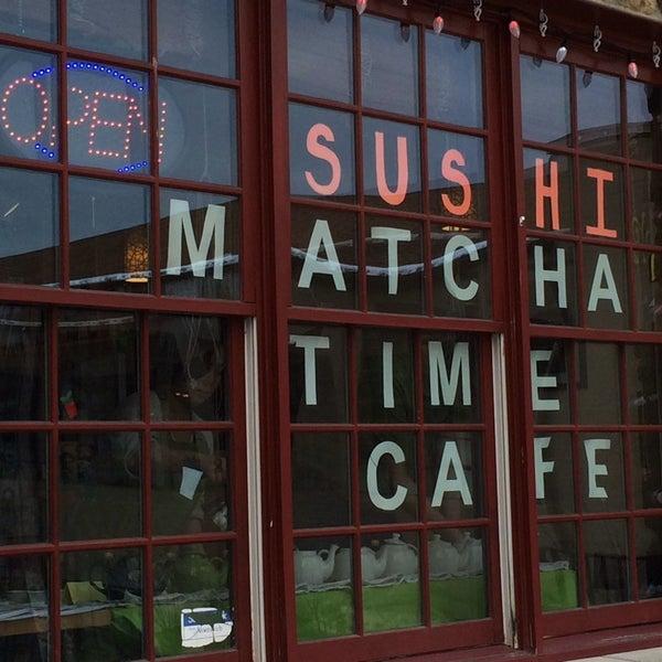 Photo taken at Matcha Time Cafe by Stu L. on 1/25/2014
