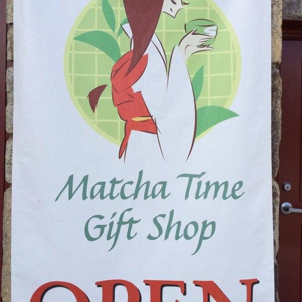 Photo taken at Matcha Time Cafe by Stu L. on 12/21/2013