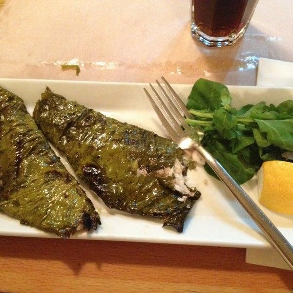 Photo taken at Sıdıka Meze Restoranı by Eda O. on 9/6/2013