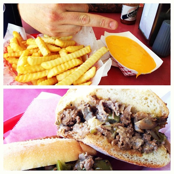 Photo taken at Amato's Cheesesteaks by Ziad S. on 6/15/2013