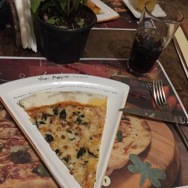 Lugar super aconchegante, espaço Kids excelente, pizzas saborosas e bom serviço. Indico!
