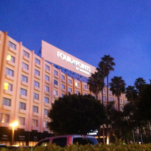 Photo taken at Four Points by Sheraton Los Angeles International Airport by Joseph D. on 1/8/2013