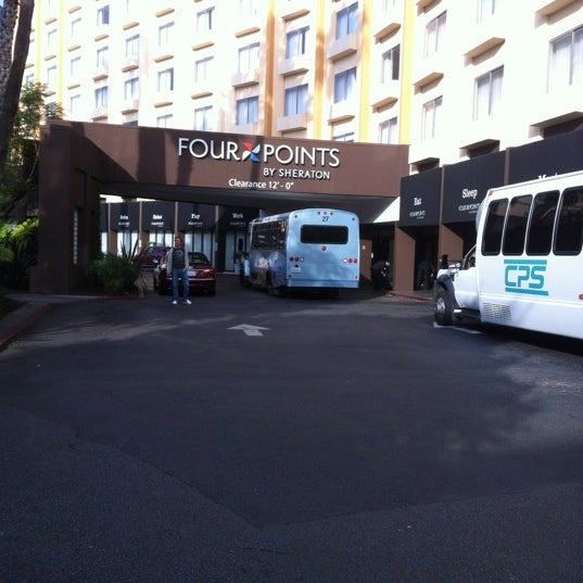 Photo taken at Four Points by Sheraton Los Angeles International Airport by Joseph D. on 12/9/2012