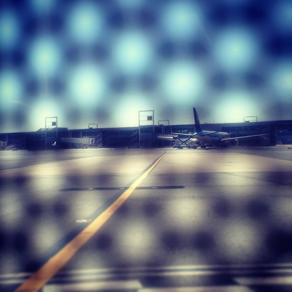 Photo taken at Terminal 3 by Cody W. on 4/21/2013