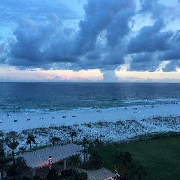 Photo taken at Hilton Pensacola Beach by Wes B. on 8/18/2016