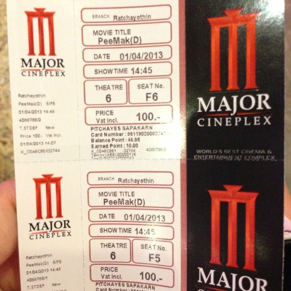 Photo taken at Major Cineplex Ratchayothin by fernery P. on 4/1/2013