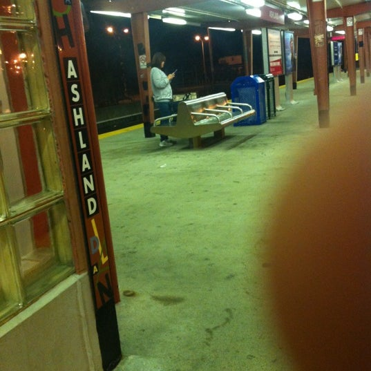 Photo taken at PATCO: Ashland Station by Chazdrums on 10/24/2012