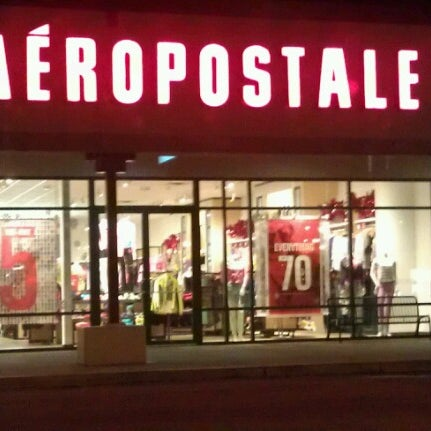 Aeropostale factory stores and outlet locations in Canada (11). The list below contains Aeropostale locations from outlet malls in Canada. To easily find Aeropostale near you in Canada, just use locator or find store by provinces and territories or choose from the list.