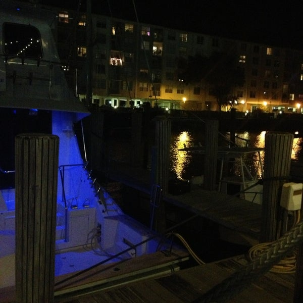 Photo taken at Bimini Boatyard Bar & Grill by Alex R. on 2/3/2013