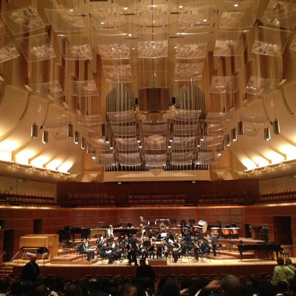 Photo taken at Louise M. Davies Symphony Hall by Dawn G. on 4/8/2013