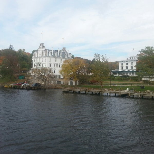 Photo taken at Goodspeed Opera House by Dave N. on 10/19/2013