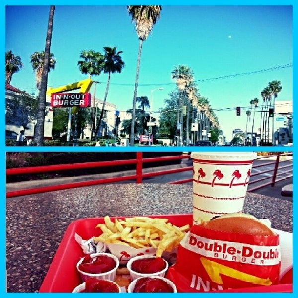 Photo taken at In-N-Out Burger by Thomas Cole O. on 3/13/2014