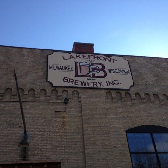 Photo prise au Lakefront Brewery par Steve K. le11/4/2012